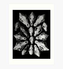 Canis Lupus Familiaris Art Print