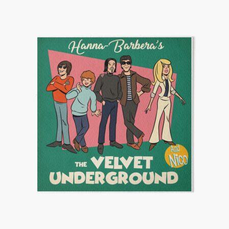 Cartoon Underground Art Board Print