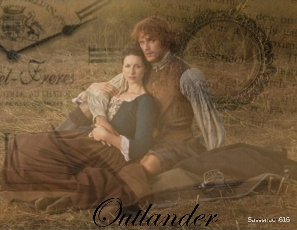 Outlander/Jamie and Claire Fraser by Sassenach616