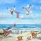Beach Peril by Joe Trodden