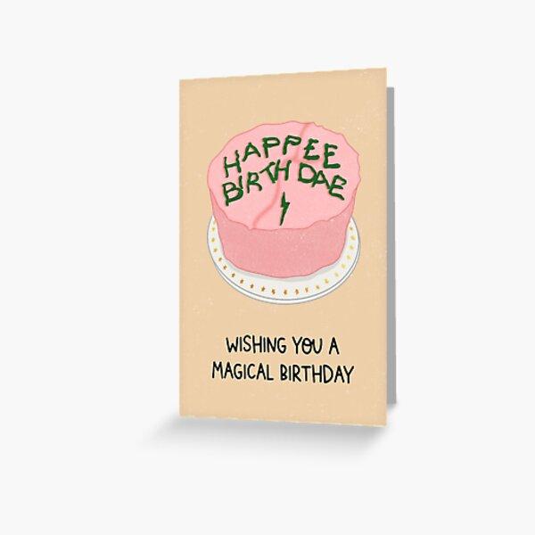 Magical Birthday Greeting Card