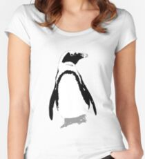 Penguin Women's Fitted Scoop T-Shirt