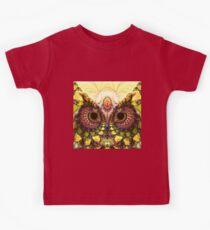 Fractal Owl Kids Tee