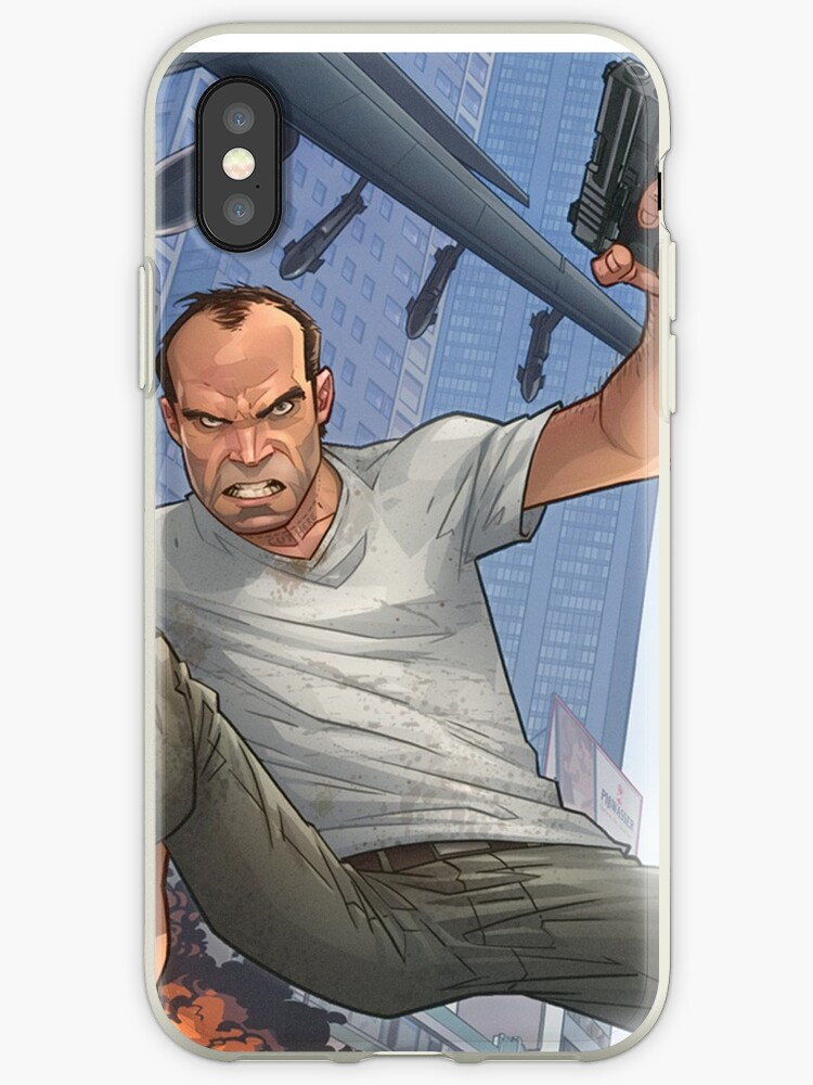 Gta 5 Artwork Iphone Case By Aiden93
