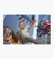 GTA 5 Artwork  Photographic Print