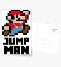 Mario Jump Man Postcards