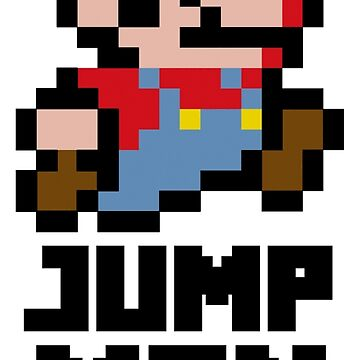 Mario Jump Man by over9000designs
