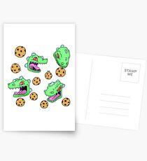 Cookie Dinosaur Postcards
