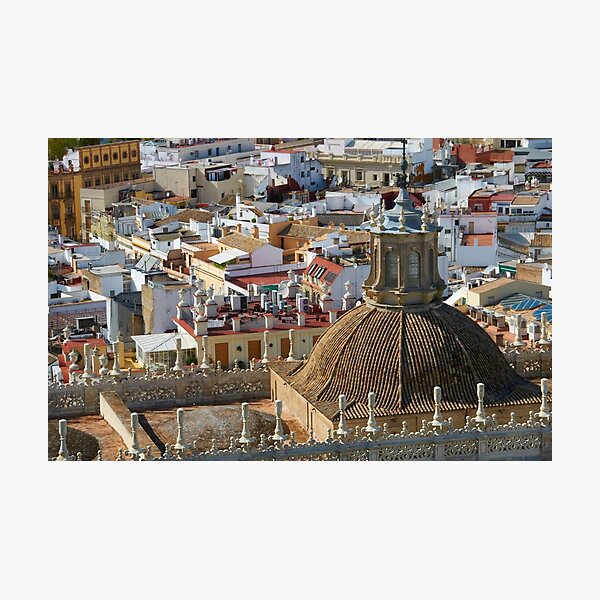 Seville rooftops Photographic Print