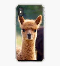 Vinilo o funda para iPhone Cute Baby Alpaca