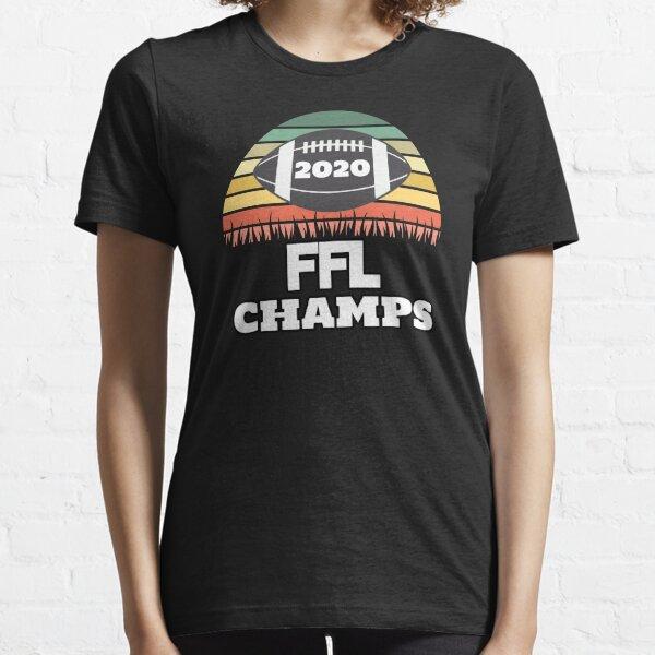 2020 Fantasy Football Champ, Fantasy Football Gift, 2020 FFL Essential T-Shirt