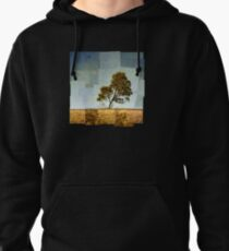 Abstract Landscape Pullover Hoodie