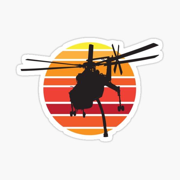 Sikorsky S-64F Skycrane Helicopter : Sticker