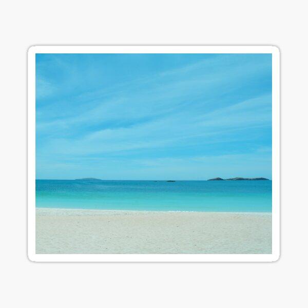 Turquoise Crystal Blue Ocean Sea Waves Water Beach Sticker