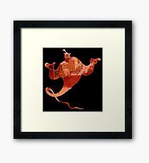 Aladdin Genie Framed Print