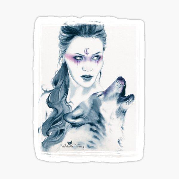 Wolf Totem Sticker