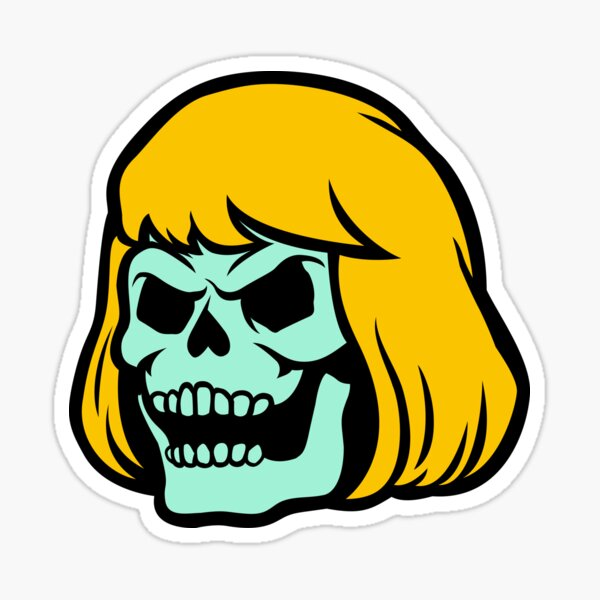 Skeleman Sticker