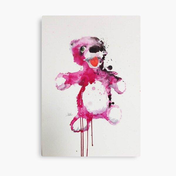 ours de la piscine Impression sur toile