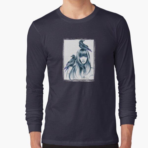 Crow Totem Long Sleeve T-Shirt