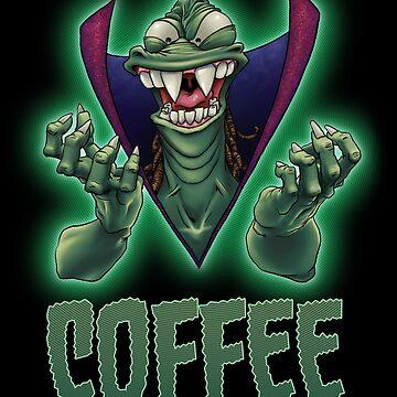 Ziltoid Needs COFFEE by VanHogTrio
