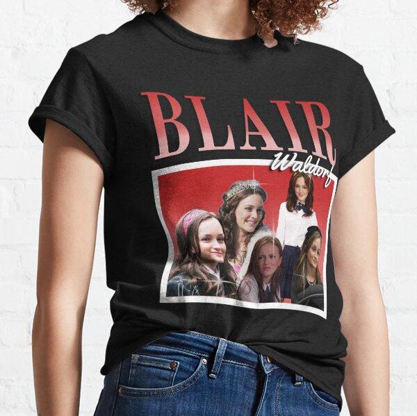 Blair Waldorf 90's vintage style potins fille T-shirt classique