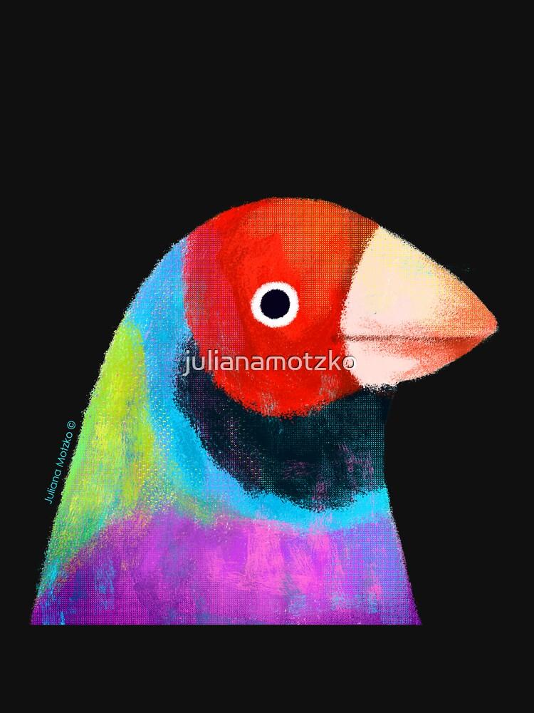 Gouldian Finch Bird by julianamotzko