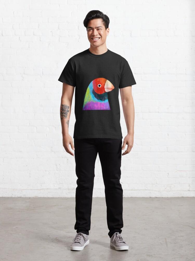 Alternate view of Gouldian Finch Bird Classic T-Shirt