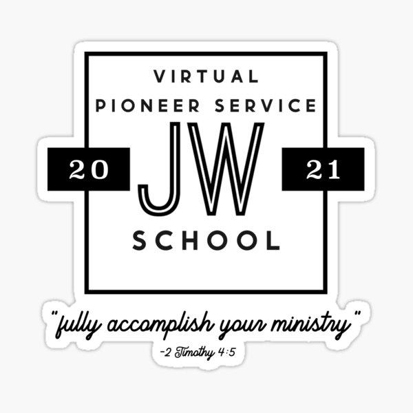 JW 2021 Pioneer School Sticker