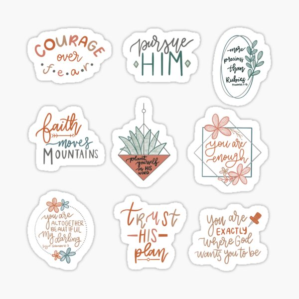 Set 2 Pack [buy medium or larger] Sticker