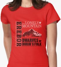 Erebor: The Lonely Mountain Women's Fitted T-Shirt