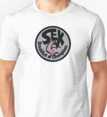 James Hunt Sex Breakfast of Champion T-Shirt