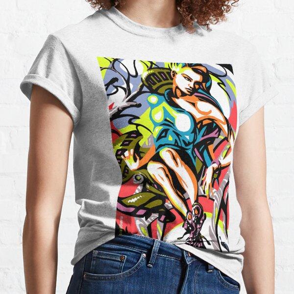 Mannequin avec des bottes T-shirt classique