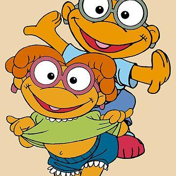 Muppet Babies - Skooter & Skeeter by DGArt
