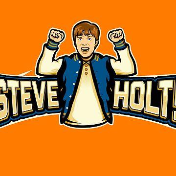 Steve Holt! by locustyears