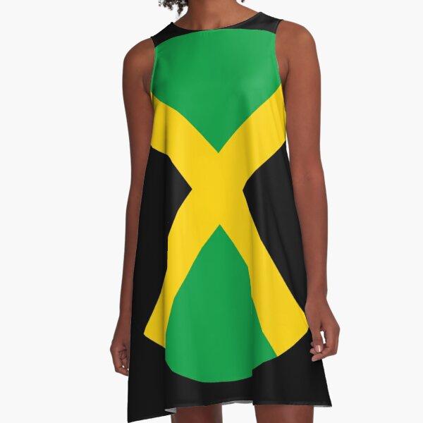 Jamaican Pride A-Line Dress