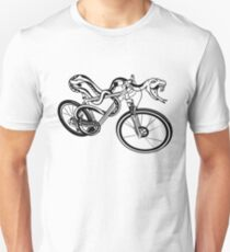 Snake Riding  A Bike Unisex T-Shirt