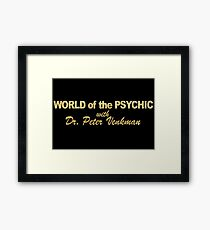 WORLD of the PSYCHIC Framed Print
