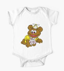 Muppet Babies - Fozzie Bear - Crawling One Piece - Short Sleeve