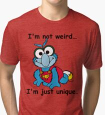 Muppet Babies - Gonzo 02 - I'm Not Weird... Tri-blend T-Shirt