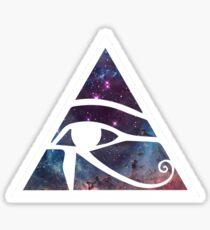 Horus eye Galaxy Sticker
