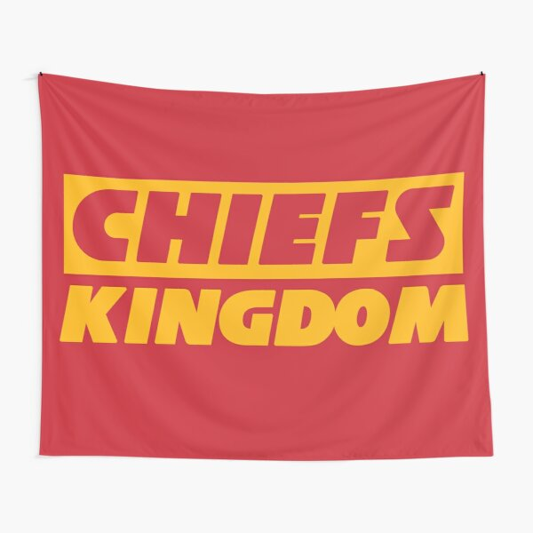 Red & Yellow Chiefs Kingdom Tapestry