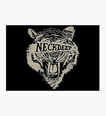 Neck Deep Logo Photographic Print