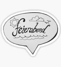 FEIERABEND Sticker