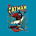 Weinlese-Catman-Comic-Bucheinbandnr. 32 von MaskedMarvel