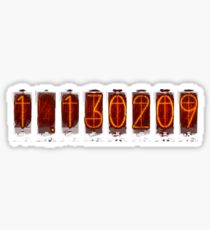 Divergence Meter T-Shirt / Phone case - Steins;Gate Sticker