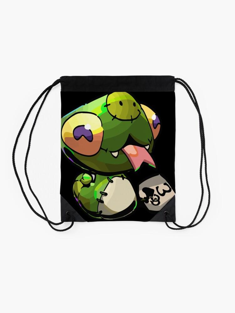 Alternate view of Chthonic Companion Fidi Drawstring Bag