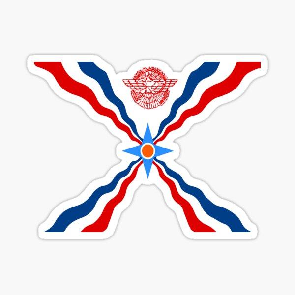 Assyrian Flag Sticker