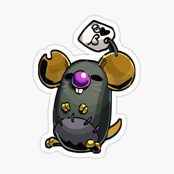 Chthonic Companion Mort Sticker