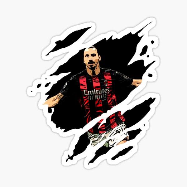 Zlatan Ibrahimovic Ac Milan Sticker