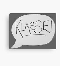 KLASSE Canvas Print